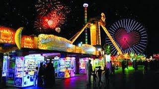 جزيرة الخيال بالقرية العالمية بدبي Fantasy Island Rides At Dubai Global village