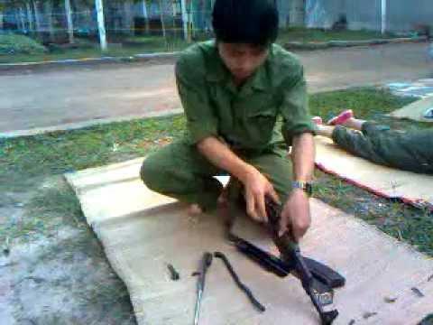 Tháo Lắp Ráp Súng Ak 47