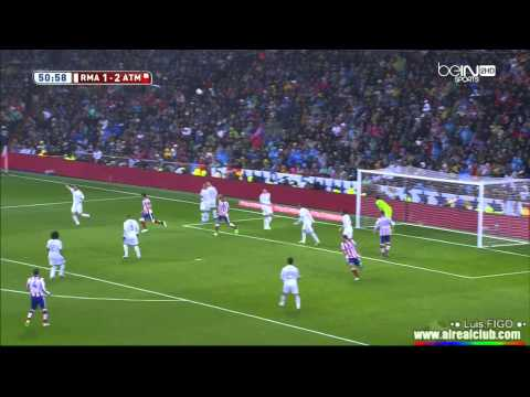 real madrid vs atletico madrid 2-2 copa del rey HD علي محمد علي