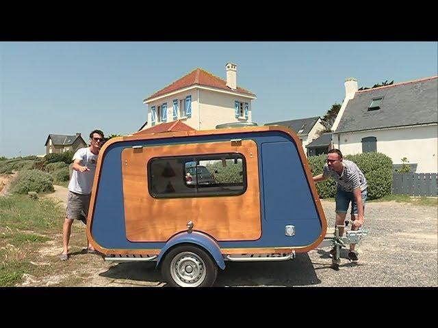 Nantes La Mini Caravane La Carapate Youtube