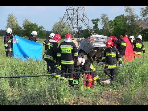Śmierć 20-letniego kierowcy i ciężarnej 16-latki