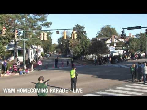 William & Mary Homecoming Parade 2013