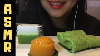 ASMR Baba Nyonya Desserts | Asian Desserts | Soft and Chewy eating sounds |