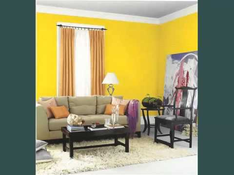 Yellow Color Decoration Room Interior Picture Collection - YouTube