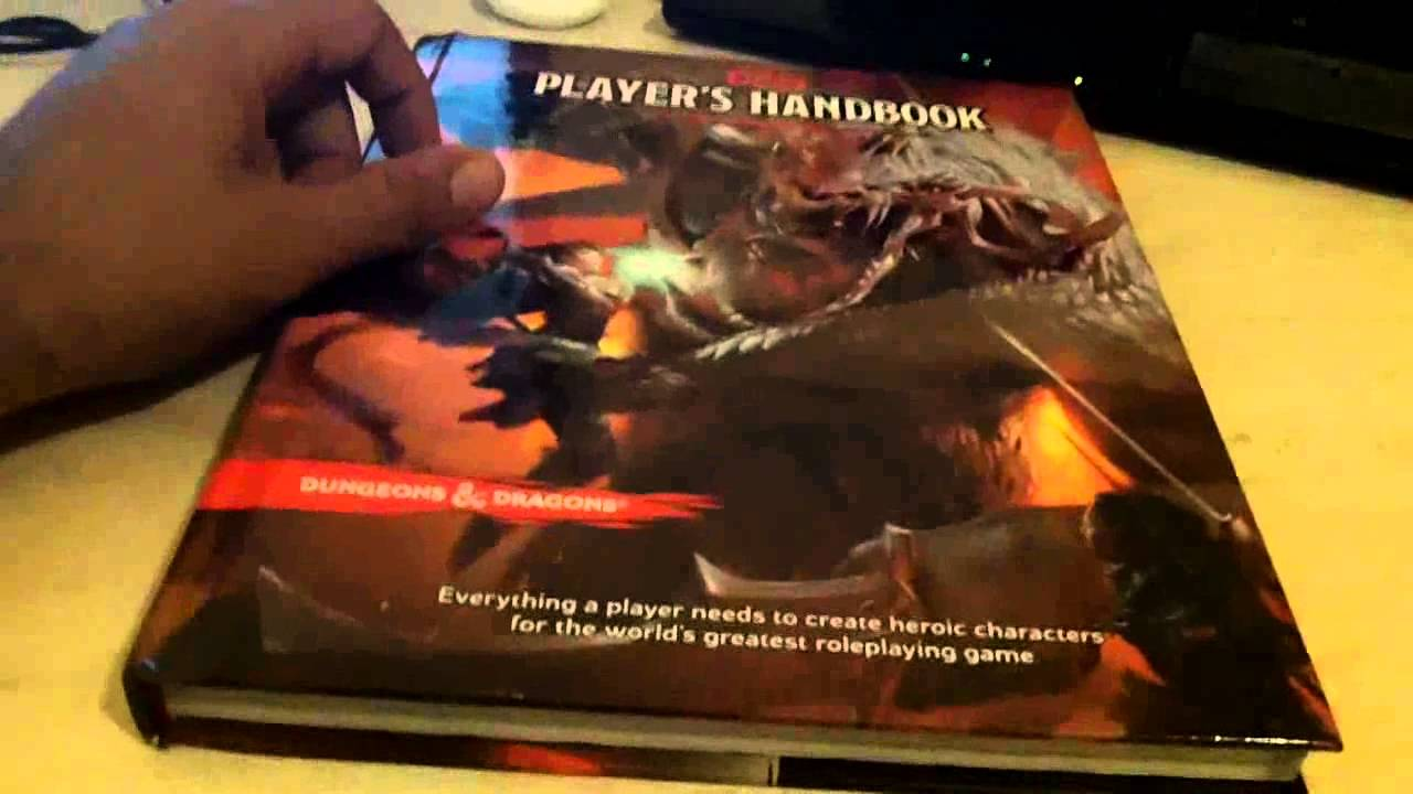D and D Players Handbook Arcane Divine and Martial Heroes 2008 1st Printing Near Mint