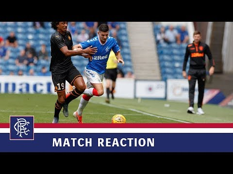 REACTION | Jordan Jones | Rangers 4-0 Marseille