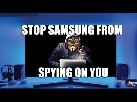 Samsung Smart TV HOW TO STOP SAMSUNG SPYING ON YOU!!