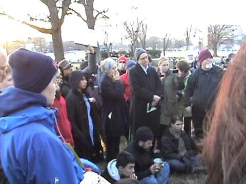 U.S. Green Party leaders Dr. Jill Stein David Cobb Janet Murphy at Occupy Congress