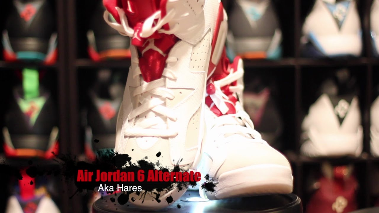 bd161cdfd79c Air Jordan 6 Alternate Aka Hares Complete Unboxing Review + On Foot ...