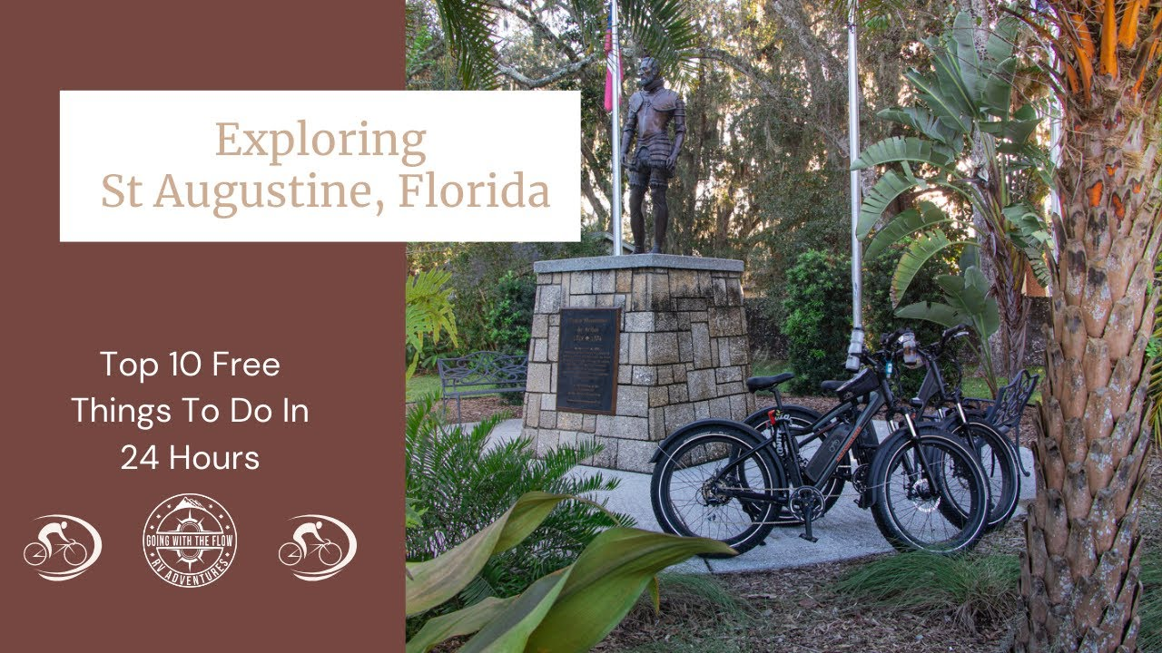 Exploring St Augustine, Florida, On Rad Power Bikes | Top 10 Free Things To Do In St Augustine