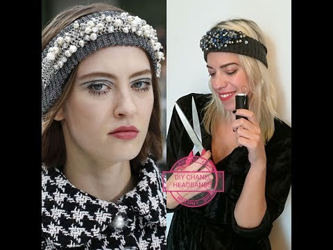 Diy inspired Chanel Headbands