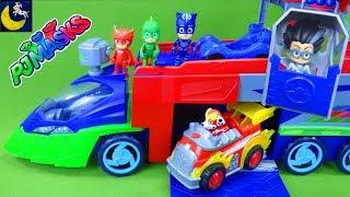 PJ Masks Paw Patrol Blaze Robot Toys PJ Seeker Truck Bus Catboy Car Gekko Best Toy Videos for Kids