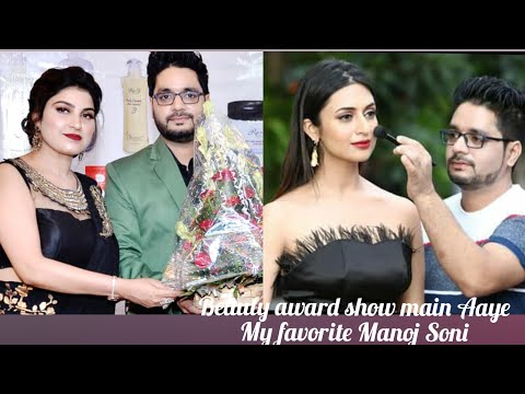My Favorite Celebrity Make-up Artist Mr Manoj Soni Delhi Mega Beauty Talent Award Show
