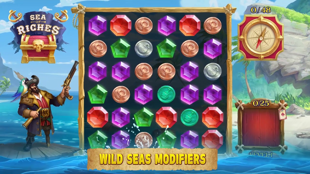 Sea of Riches Slot Play Free ▷ RTP 96% & Medium Volatility video preview