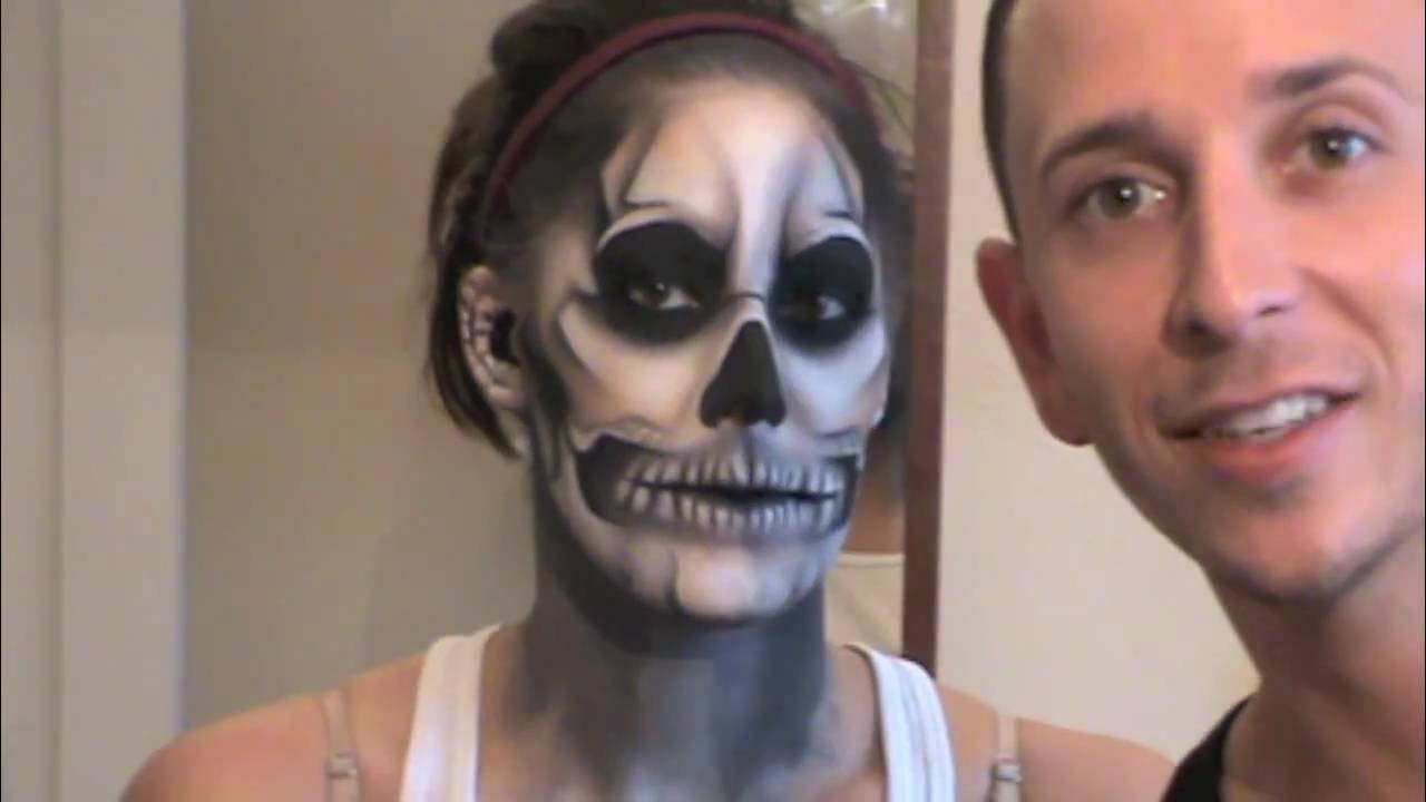 Buy Gaga lady inspired halloween skull makeup tutorial picture trends