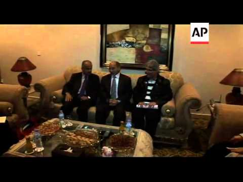 United Nations envoy to Libya meets rebel leaders in Benghazi