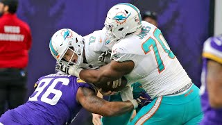 Dolphins tackle Ja'Wuan James isn't happy about the way he protected Tannehill