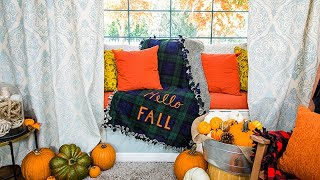 DIY Fall Throw Blankets - Home & Family