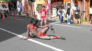 Okk(オック)さん・第9回高円寺びっくり大道芸2017年4月29日。