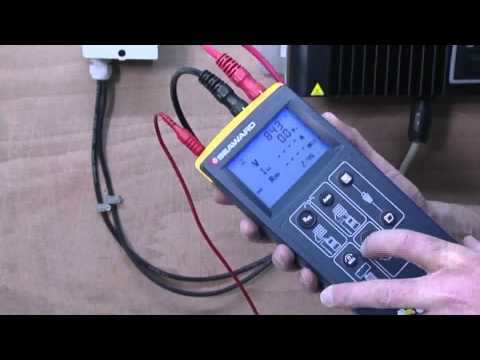 How to test a PV installation using the new Seaward Solarlink™ Test Kit