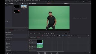 How to do Green Screen in Davinci Resolve