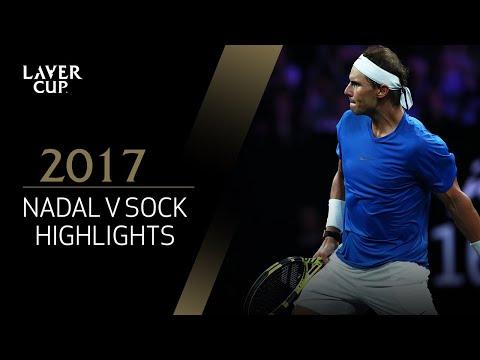 Rafael Nadal v Jack Sock highlights (Match 6) | Laver Cup 2017