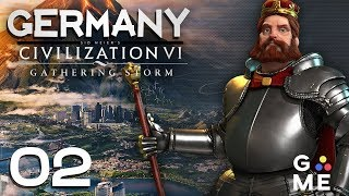 Deity Germany - Culture | Civ - Gathering Storm | Episode 2 [Stealing]
