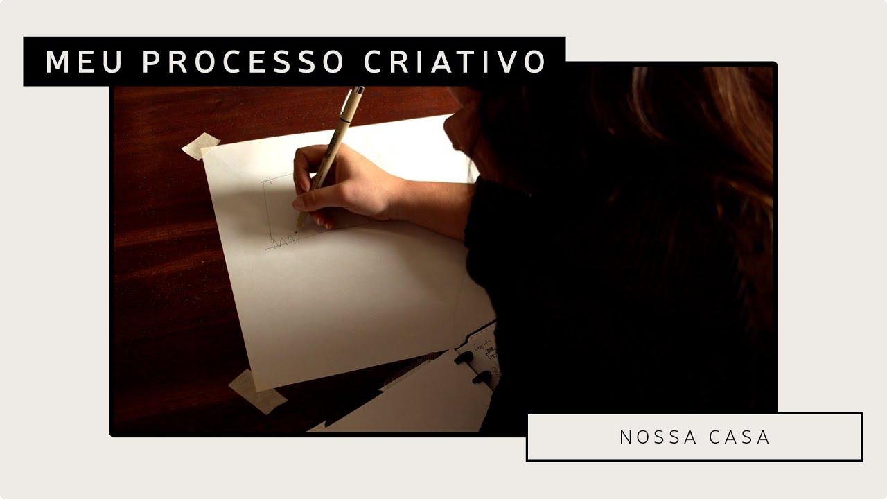 Como é o meu processo criativo nos projetos.