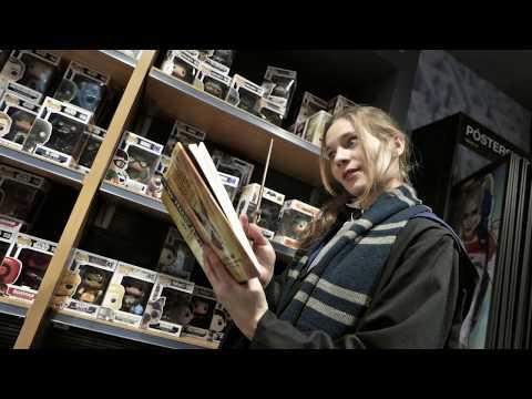 Harrypotterecinight el corte ingl s callao youtube for El corte ingles callao