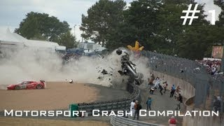 Motorsport Crash Compilation (HD)