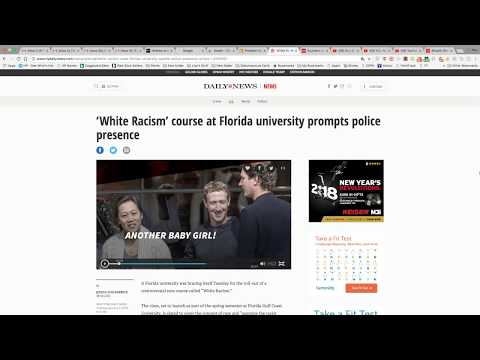 White Racism Course Offered At Florida Gulf Coast University
