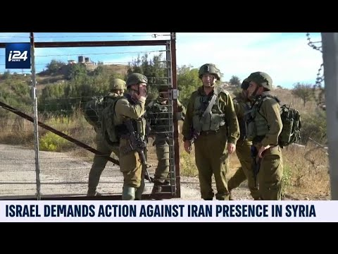 Israel Demands Action Against Iran Presence In Syria