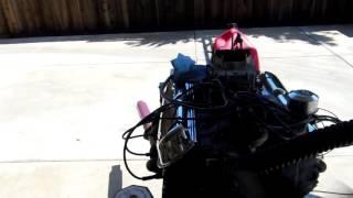 1965 Mustang 289 K Code Engine Running