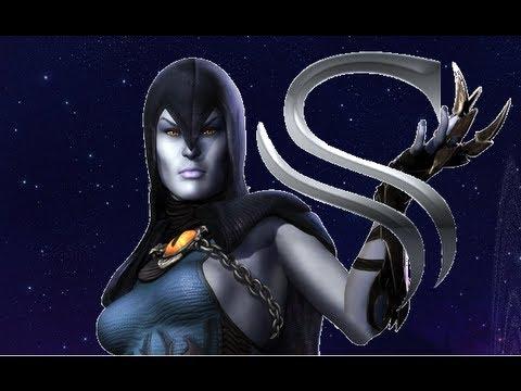 Injustice: Gods Among Us Raven - Combo and Setups - YouTube