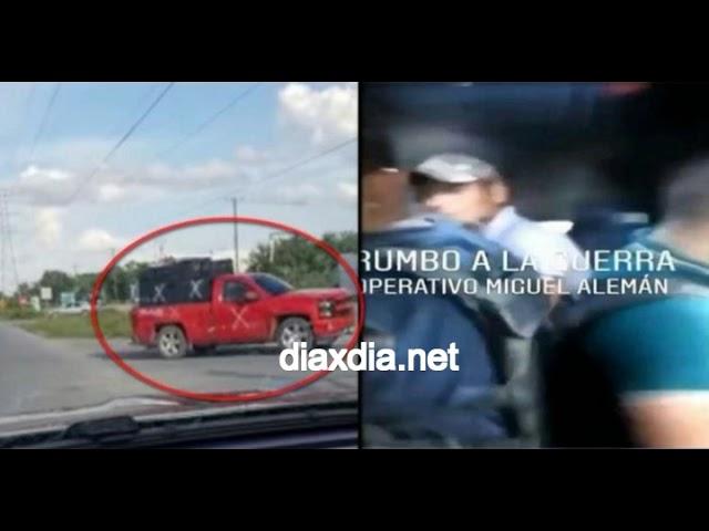 VIDEO Adentro del pinche monstruo Sicarios del CDG viajando en blindado