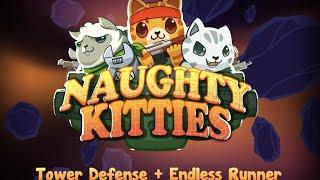 Игры на андроид самые лучшие / Naughty Kitties / Кошачий отряд вперед