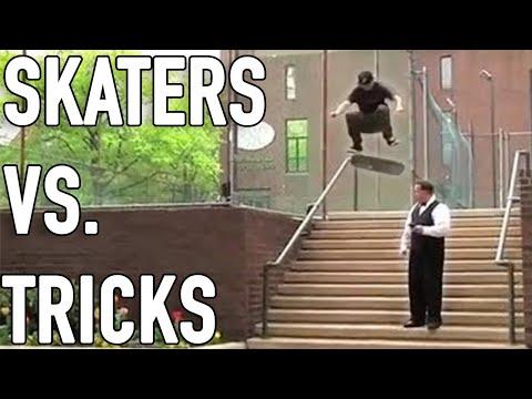 Skaters Vs. Tricks 2020 (Skateboarding Tricks, Wins & Fails)