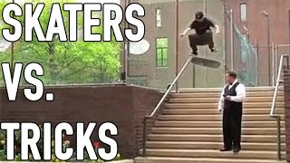 Skaters Vs. Tricks 2020 (Skateboarding Tricks, Wins & Fails)