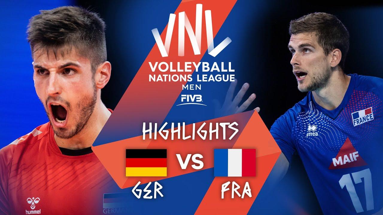 Download GER vs. FRA - Highlights Week 1 | Men's VNL 2021