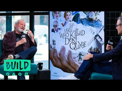 "Terry Gilliam Discusses His Film, ""The Man Who Killed Don Quixote"""