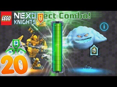 Battle Suit AXL vs MONSTROX Perfect NEXO Combo Powers Shields - Lego Nexo Knights part 20