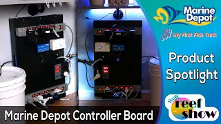 Staying Organized with the Marine Depot Controller Board!  That Reef Show Product Spotlight