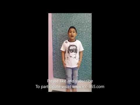 bum bum bole song by cute little boy