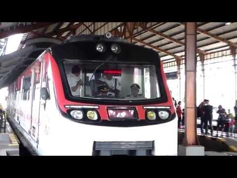 Kereta Batara Kresna Siap-siap Berangkat