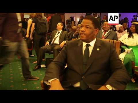 WAfrican leaders at ECOWAS summit