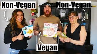 Vegan Food Taste Test | ft. My Non-Vegan Family
