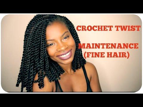 CROCHET TWIST MAINTENANCE (FINE HAIR)