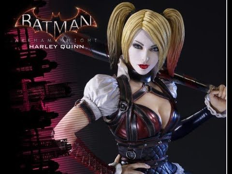 PRIME 1 STUDIO - HARLEY QUINN - EXCLUSIVE - BATMAN ARKHAM KNIGHT  - REVIEW FRANCAISE FRENCH