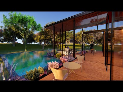 3D House | CGI House | Jungle House | Lumion Animation | 3d Animation House | 3D House
