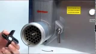 видео Технические характеристики мясорубок